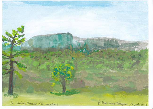 Grotte de Sainte Marie-Madeleine par J.M. Mérigoux op