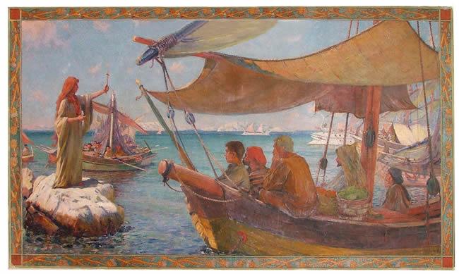 Peinture Marie Madeleine