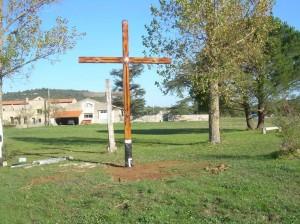 croix sur la prairie
